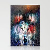Wolf Universe Stationery Cards
