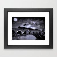 The Night Train Framed Art Print