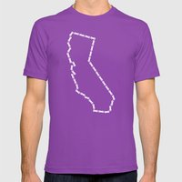 Ride Statewide - Califor… Mens Fitted Tee Ultraviolet SMALL
