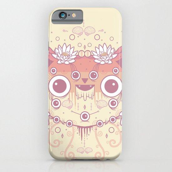 Cat flowers iPhone & iPod Case