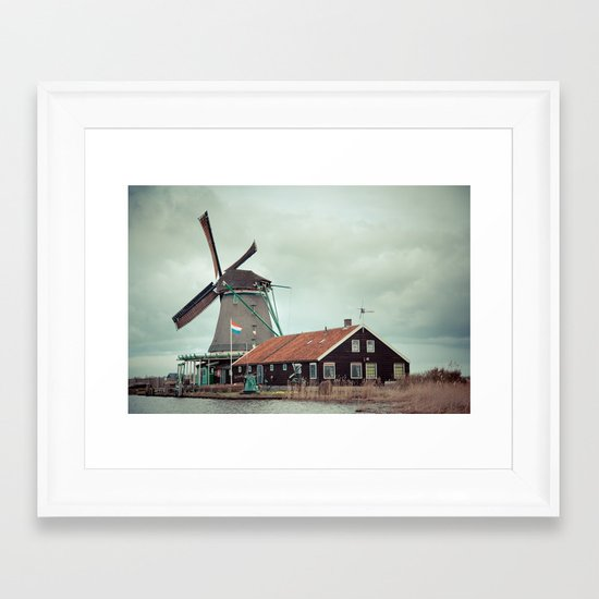 Mill away Framed Art Print