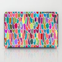 Feather Grid iPad Case