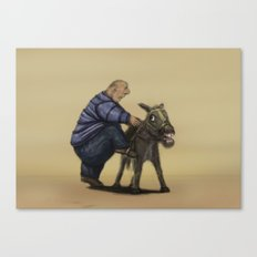 A means of transportation. Canvas Print