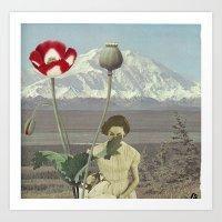 Land-forms Art Print