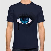 Mystic Eye Mens Fitted Tee Navy SMALL