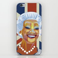 Elizabeth II iPhone & iPod Skin