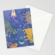 Astrocats Stationery Cards