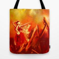 Ateş rengi Tote Bag