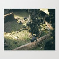Temporary Happiness Part… Canvas Print