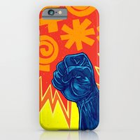 iPhone & iPod Case featuring Superheroes SF by Nick Volkert