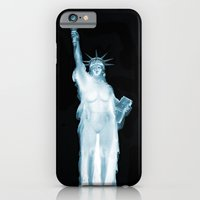 iPhone & iPod Case featuring Land of the Free? by David Wolf
