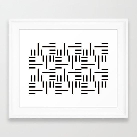 Kemper Black & White Framed Art Print