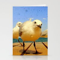 Seagulls - number 4 from set of 4 Stationery Cards