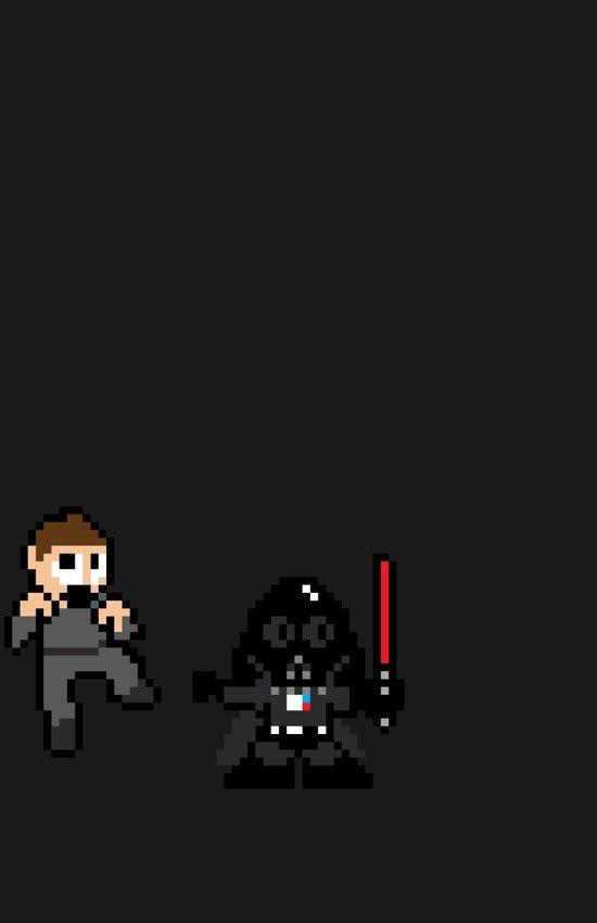 Pixel Wars Art Print