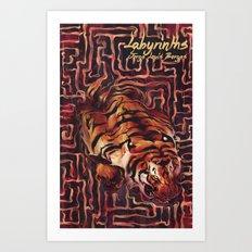 Labyrinths Art Print