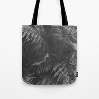 Colorless Fern Tote Bag