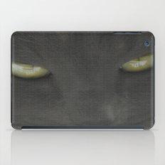 walls have eyes iPad Case