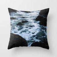 Salt Water Study II Throw Pillow