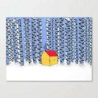 Cat House Canvas Print