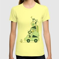 There's still room for one more Womens Fitted Tee Lemon SMALL