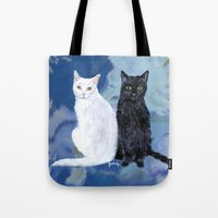 Kingston and Midnight Tote Bag