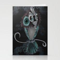 Owl Eye Key Hole Stationery Cards