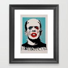 =Boris Karloff=FASHIONVICTIM= Framed Art Print