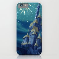 iPhone & iPod Case featuring Portrait of a Kingdom: Beast's Castle  by Tella