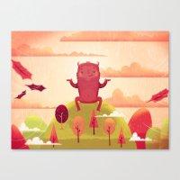 Welcome Autumn! Canvas Print