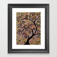Abstract tree-11 Framed Art Print