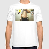 Ronn. Mens Fitted Tee White SMALL