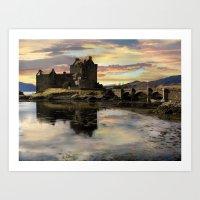 Eilean Donan Castle Scotland Art Print