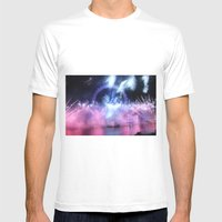 New Year's Eve At London… Mens Fitted Tee White SMALL