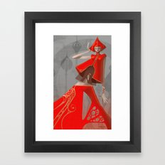 Pepper Fashion Framed Art Print