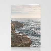 Ocean (Rocks Within The … Stationery Cards