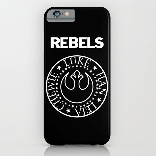 I Wanna Be a Rebel iPhone & iPod Case