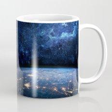 Earth and Galaxy Mug