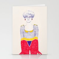 Unevenness Stationery Cards