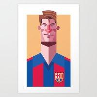 ML9 | Blaugrana Art Print
