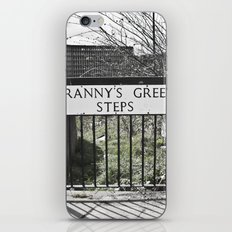 Granny's Green Steps iPhone & iPod Skin