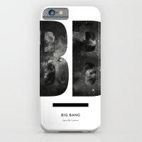 iPhone & iPod Case featuring BIG BANG by Amanda Mocci