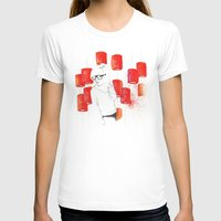 Solitudine Womens Fitted Tee White SMALL