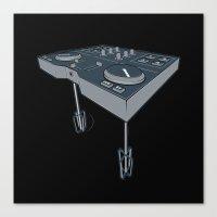 Mixer Canvas Print