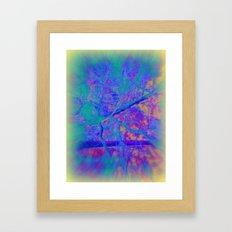 Trippin' thru the forest Framed Art Print