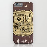 Vintage Vancouver Billiard Sign iPhone 6 Slim Case