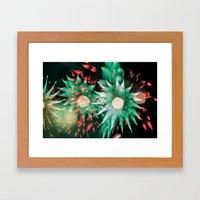 Fireworks - Philippines 7 Framed Art Print