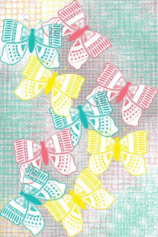 Butterflies in Heaven Canvas Print