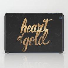 Heart of Gold iPad Case