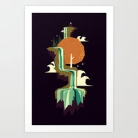 Waterfall Dream Art Print