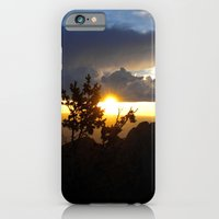 iPhone & iPod Case featuring Sunset Over Albuquerque by Julie